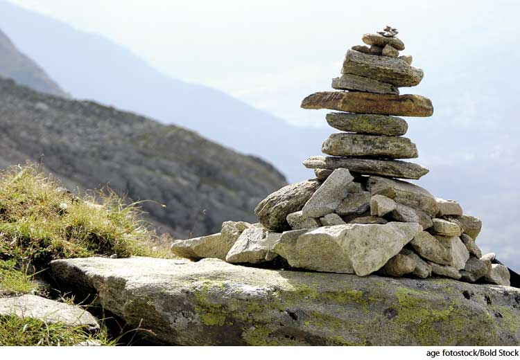 american heritage dictionary entry cairn