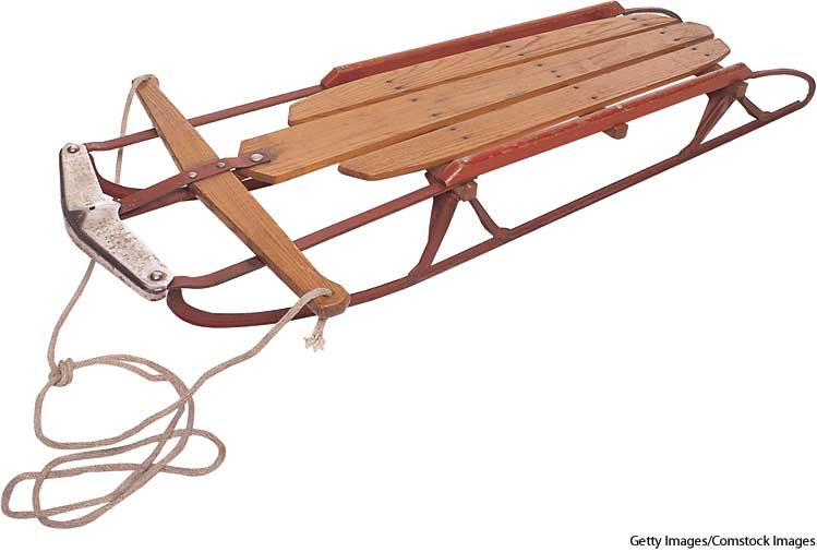 american heritage dictionary entry sled